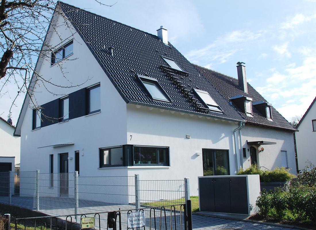 E7 | Neubau einer Doppelhaushälfte