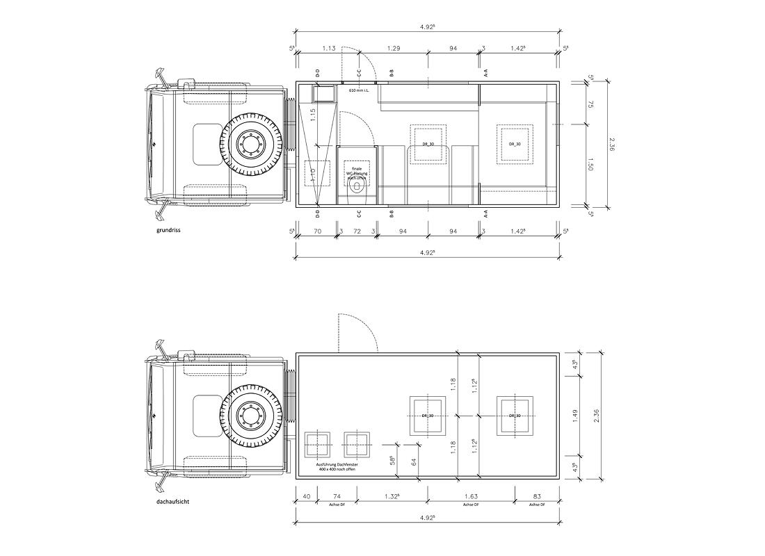 EX03 | Entwurf und Konstruktion einer Wohnkabine
