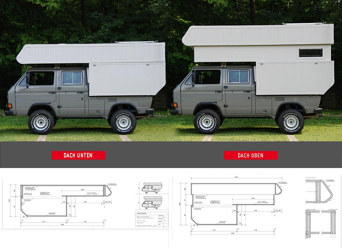 EX02 | Entwurf und Konstruktion einer Absetzkabine