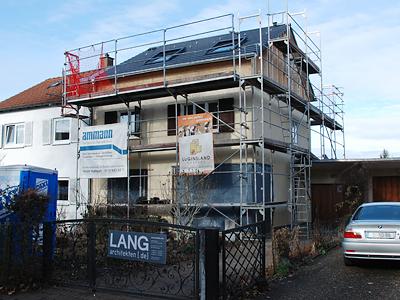 K22 | Sanierung und Erweiterung einer Doppelhaushälfte